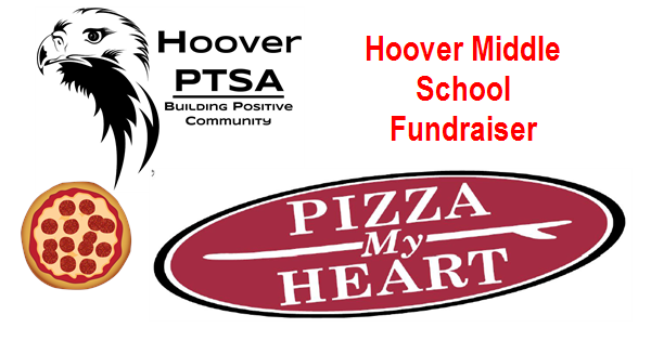 pizza my heart fundraiser graphic